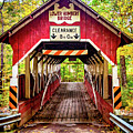 Lower Humbert Covered Bridge 5 by Steve Harrington