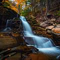 Lower Kaaterskill Falls by Rick Berk