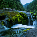 Lower Lewis Falls 1 by Ingrid Smith-Johnsen