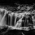 Lower Lewis Falls Washington State by Bob Christopher