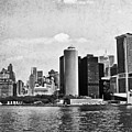 Lower Manhattan by Mary Pille