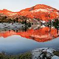 Lower Ottoway Lake Sunset - Yosemite by Bruce Lemons
