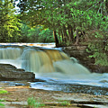 Lower Tahquamenon Falls by Michael Peychich