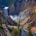 Lower Yellowstone Falls by Idaho Scenic Images Linda Lantzy