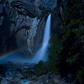 Lower Yosemite Falls Moonbow by Jim Dohms