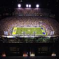 Lsu Aerial View Of Tiger Stadium by Louisiana State University