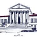 Lsu Old Law Building by Frederic Kohli