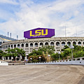 Lsu Tiger Stadium by Scott Pellegrin