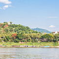 Luang Prabang From The Mekong River by Didier Marti