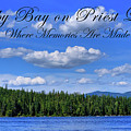 Luby Bay On Priest Lake by David Patterson