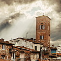 Lucca Tower Panorama by Songquan Deng
