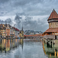 Lucerne Chapel Bridge by LOsorio Photography