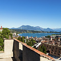 Lucerne Old Town In Switzerland by Didier Marti