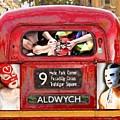 Lucha Bus London by Nancy Almazan