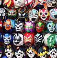 Lucha Libre Wrestling Masks by Noel Baebler