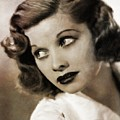 Lucille Ball By Mary Bassett by Mary Bassett