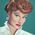 Lucille Ball by Tom Carlton