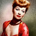 Lucille Ball, Vintage Actress by John Springfield