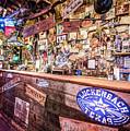 Luckenbach Bar by Andy Crawford