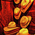 Luckenbach Hats Hdr by Judy Vincent