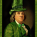 Lucky Ben Franklin In Green by Gravityx9  Designs