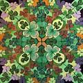 Lucky Day  Mandala by Ethel Mann