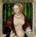 Lucretias Suicide by Lucas Cranach the Elder