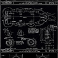 Lucy The Elephant Building Patent Blueprint 3 by Edward Fielding
