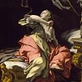 Ludovico Mazzanti - The Death Of Lucretia by Ludovico Mazzanti