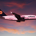 Lufthansa Airbus A380 D-aimh by J Biggadike