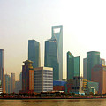 Lujiazui - Pudong Shanghai by Christine Till