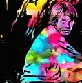 Luke Skywalker Paint Splatter by Dan Sproul