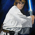Luke Skywalker by Tom Carlton
