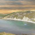 Lulworth Cove Panorama by Roy Pedersen