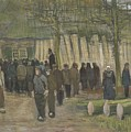Lumber Sale Nuenen  January 1884 Vincent Van Gogh  1853  1890 by Artistic Panda