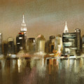Luminous New York Skyline  by Beverly Brown