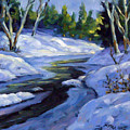 Luminous Snow by Richard T Pranke