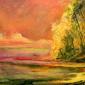 Luminous Sunset 2-16-06 Julianne Felton by Julianne Felton