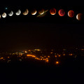 Lunar Eclipse - Red Moon- Step By Step by Krzysztof Dac
