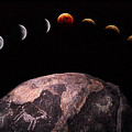 Lunar Eclipse Sequence by Kent Wood