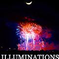 Lunar Illumanations Epcot by David Lee Thompson