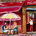 Lunch At The Mazurka by Carole Spandau