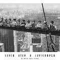 Lunch Atop A Skyscraper, By Lego by David Rius Serra