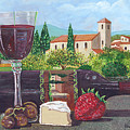 Lunch In Provence by Maxine Caprioli-Hight