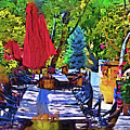Lunch In Wine Country by Kirt Tisdale