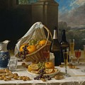 Luncheon Still Life, At And By John F. Francis by John F Francis