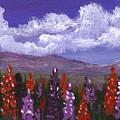 Lupine Land #3 by Anastasiya Malakhova
