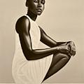 Lupita Nyong'o by Paul Meijering