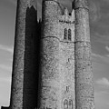 Lusk Round Tower B And W by Martina Fagan