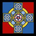 Lutheran Cross by Jost Houk
